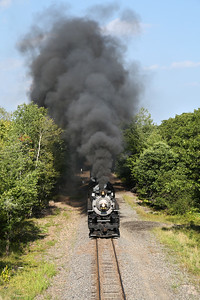 Nickel Plate 765 at Mt. Pocono