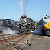 Nickel Plate 765 at Steamtown