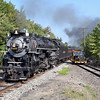 Nickel Plate 765 at Tobyhanna