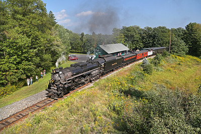 Nickel Plate 765 at Cresco