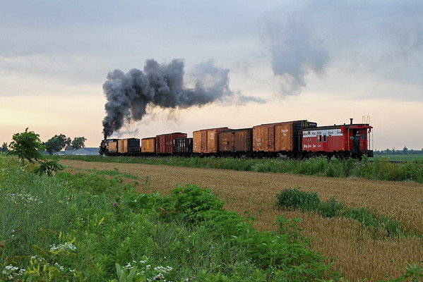 Nickel Plate 765 at HVRM (Indiana)
