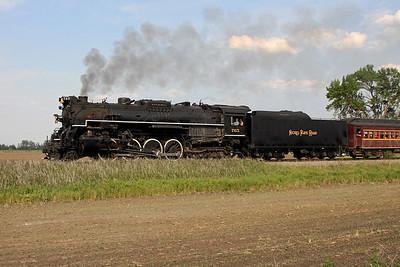Nickel Plate 765 at La Crosse, Indiana