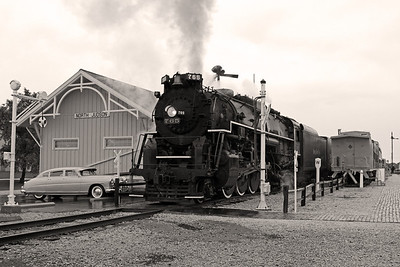 Nickel Plate 765 at North Judson, Indiana