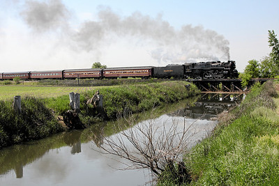 Nickel Plate 765 at La Crosse, Indiana