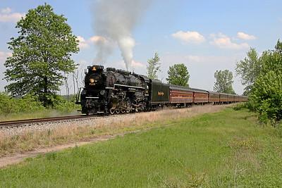 Nickel Plate 765 at English Lake, Indiana