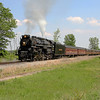 Nickel Plate 765 at English Lake, Indiana