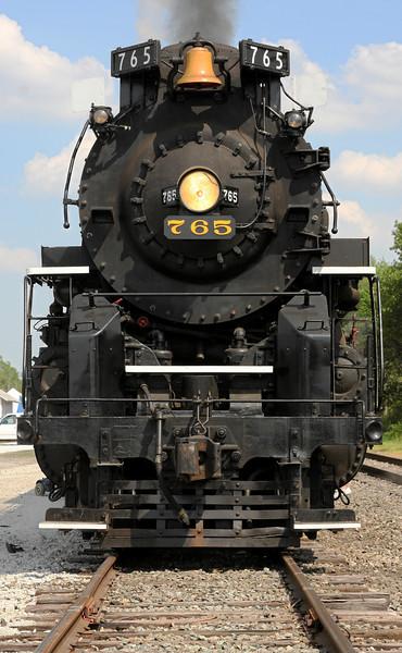 Nickel Plate 765 at North Judson, Indiana