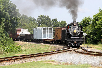 Southern 630 at the North Carolina Transportation Museum