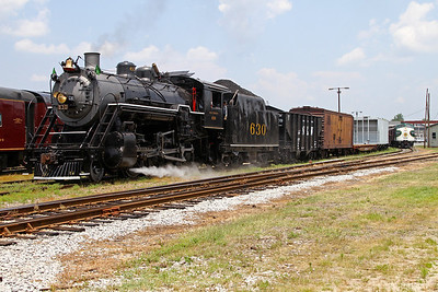 Southern 630 at the North Carolina Transportation Museum