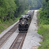"""Southern 630 at Wirtz, Virginia, leading a Norfolk Southern """"21st Century Steam"""" special from Winston-Salem to Roanoke"""