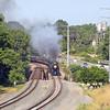 N&W 611 at Linwood, NC (Yadkin River Bridge)