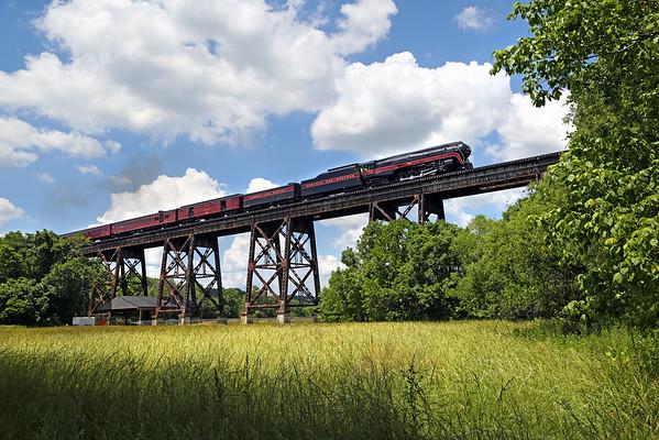 Norfolk & Western Class J 611 (NC & VA)
