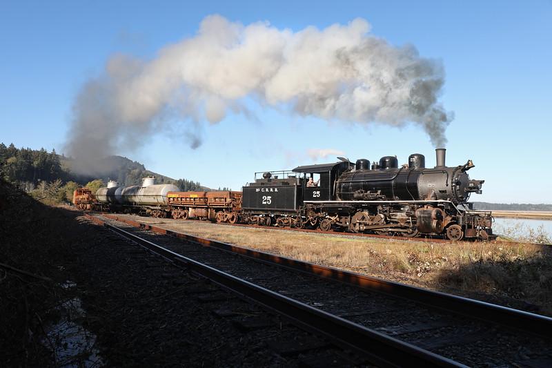 Oregon Coast Scenic Railroad