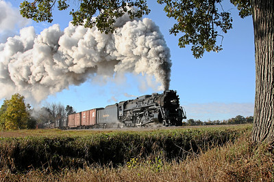 Nickel Plate 765 at King Road (St. Charles Branch); Owosso, MI
