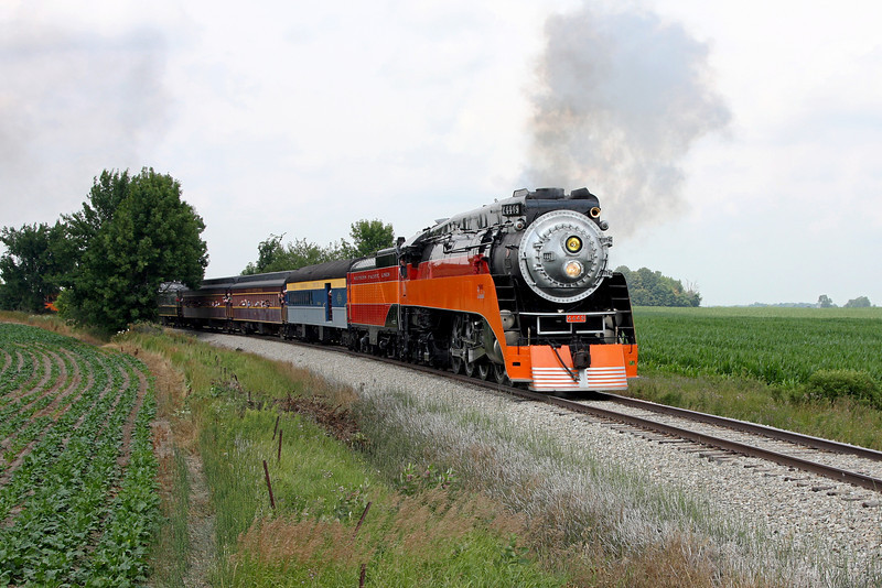 SP Daylight 4449 at Alma, Michigan (Harrison Road)