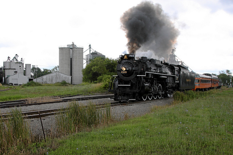 Nickel Plate 765 at Ithaca, Michigan (Elm Street)
