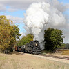 Nickel Plate 765 at Oakley, MI (approaching Epton Road)