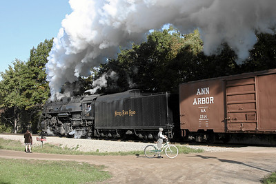 Nickel Plate 765 at Owosso, MI (King Road)