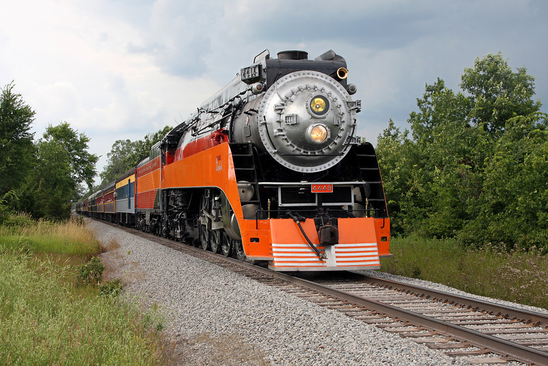 SP Daylight 4449 at Owosso, Michigan (Wildermuth Road)