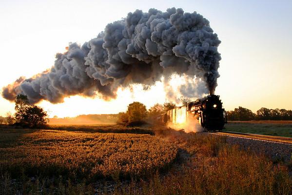Steam Railroading Institute in Summer & Fall