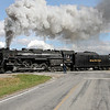 Nickel Plate 765 at Owosso, MI (Mason/Delaney Road)