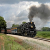 Nickel Plate 765 at Alma, Michigan (Harrison Road)