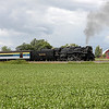Nickel Plate 765 at Owosso, Michigan (Smith Crossing)