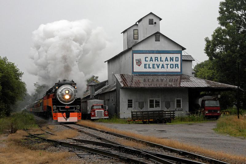 SP Daylight 4449 at Carland, Michigan
