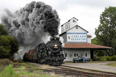 Nickel Plate 765 at Carland, MI