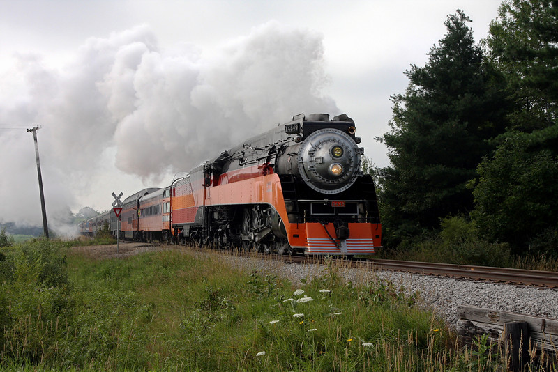 SP Daylight 4449 at Ashley, Michigan (Roosevelt Road)