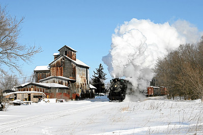 Pere Marquette 1225 at Henderson, Michigan