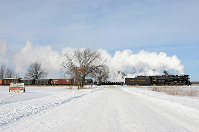 Pere Marquette 1225 at Carland, Michigan