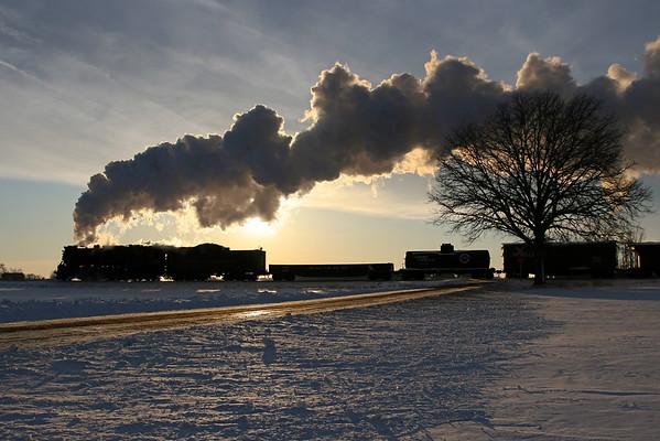 Steam Railroading Institute in Winter (MI)