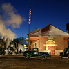 Pere Marquette 1225 at the depot in Owosso, Michigan