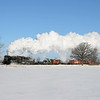 Pere Marquette 1225 at Owosso, Michigan