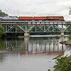 Southern Pacific Daylight 4449 at Niles, Michigan<br /> (St. Joseph River)