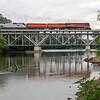 Southern Pacific Daylight 4449 at Niles, Michigan<br /> (St. Joseph River)
