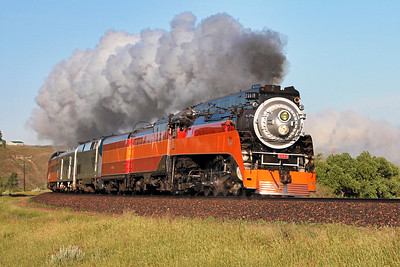 Southern Pacific Daylight 4449 at Havre, Montana