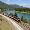 Southern Pacific Daylight 4449 at Troy, Montana<br /> (Kootenai River)