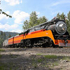 Southern Pacific Daylight 4449 at Whitefish, Montana