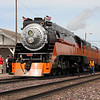 Southern Pacific Daylight 4449 at Cut Bank, Montana<br /> (Amtrak station)