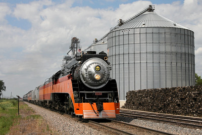 Southern Pacific Daylight 4449 at Gardner, North Dakota