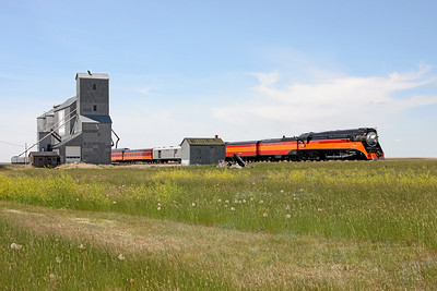 Southern Pacific Daylight 4449 at Kremlin, Montana