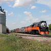 Southern Pacific Daylight 4449 at Arvilla, North Dakota