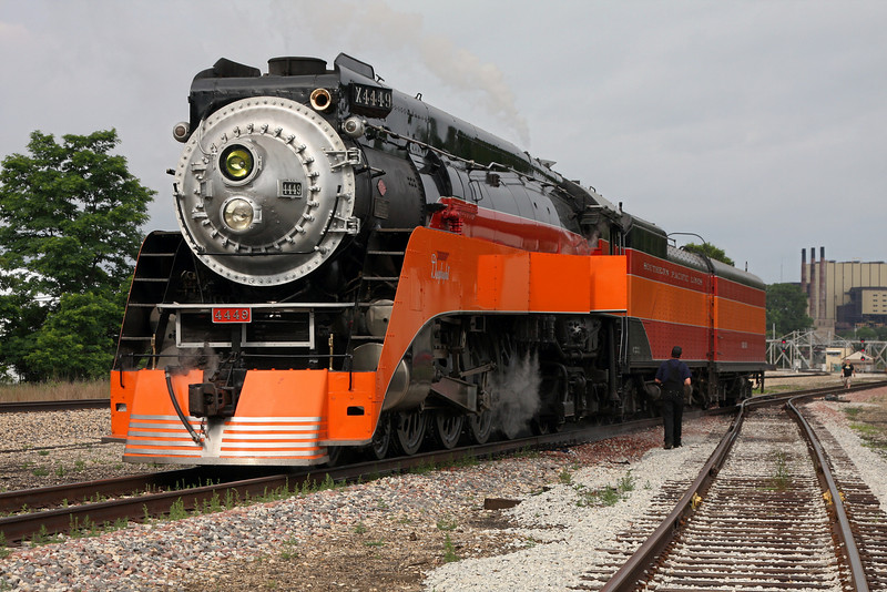 Southern Pacific Daylight 4449 at Michigan City, Indiana