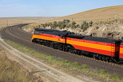 Southern Pacific Daylight 4449 at Providence, Washington (Providence Hill)