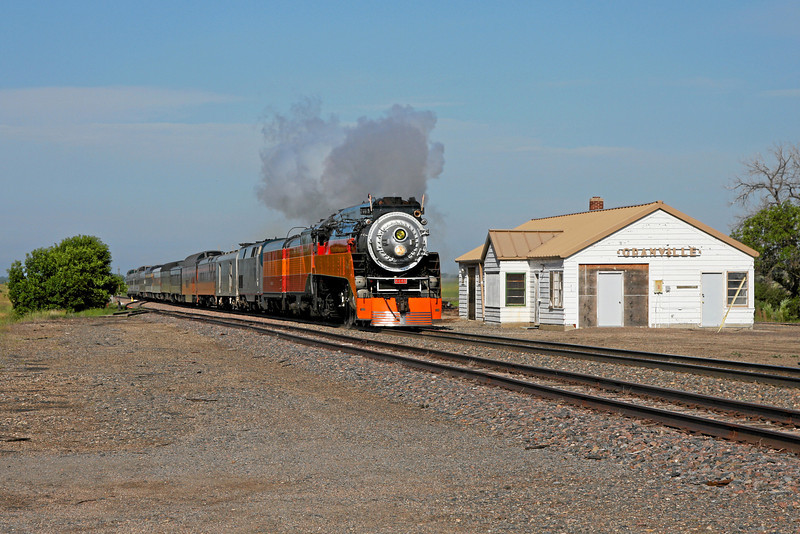Southern Pacific Daylight 4449 at Granville, North Dakota
