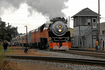 Southern Pacific Daylight 4449 at Kalamazoo, Michigan