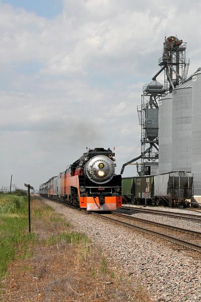Southern Pacific Daylight 4449 at Gardner, North Dakota