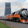 Southern Pacific Daylight 4449 at Harwood, North Dakota